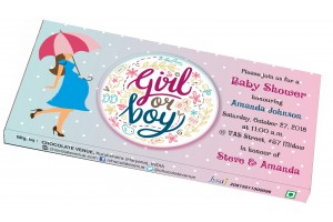 Baby Shower Invitation - Customized Chocolate Bar Wrapper