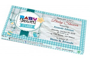 Baby Boy Birth Announcement Invitation - Customized Chocolate Bar Wrapper