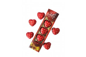 5 Pc Heart Chocolate Pack