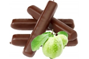 Milk Chocolate Sticks in Guava Flavour