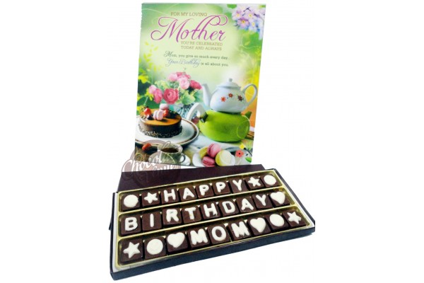 Fantastic Birthday Chocolate Gift For Mom Mother