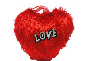 Heart Shape Red Color Cushion-Big