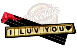 Romantic I love You Chocolate Message