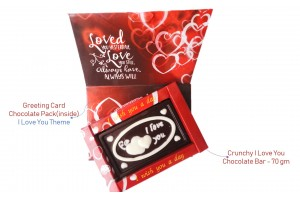 Love Chocolate Greeting Card