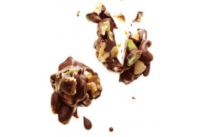 Mixed Nut Chocolate Cluster