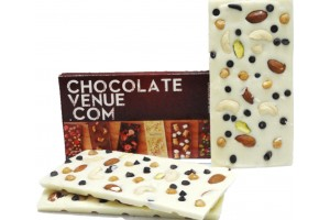 White Chocolate Butter Scotch & Dry Fruit Bar