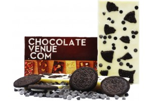 White Chocolate Bar with Oreo and Choco Chips