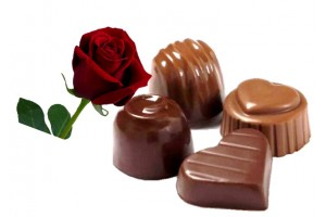 Rose Flavored Dark Chocolate