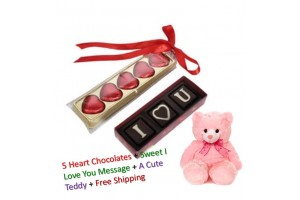 Special Chocolate Gift Pack Combo with Cute Teddy