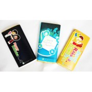 Rakhi Special Pack - 3 Chocolate Bars(50 gm each) with a Rakhi and Greeting Card