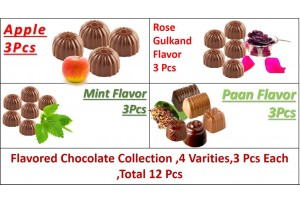 Royal Flavored Chocolate Collection - 4 Varities