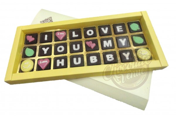 Chocolate Gift for Husband - Anniversary Gift,Birthday Gift,Valentine Day Gift for Husband