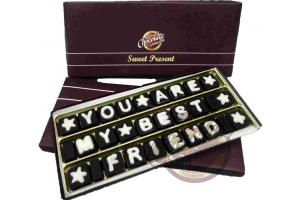 You Are My Best Friend Chocolate Message
