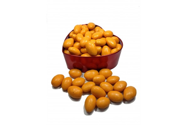 Chocolate Covered Almonds - Orange Flavour - 250 gm