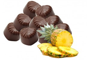 Dark Chocolate In Pineapple Flavour