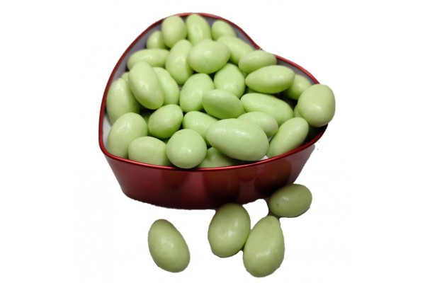 Chocolate Coated Almonds - Pista Flavour- 250 gm