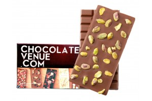 Pistachio/Pista Milk Chocolate Bar