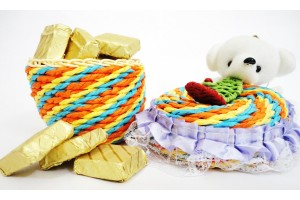 A Teddy Basket Filled with Assorted Chocolates
